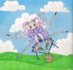 Dragonfly Rider by clrkrex