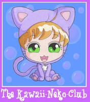 The Kawaii-Neko-Club Mascot by clrkrex
