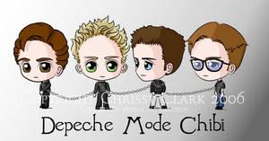 Depeche Mode Chibi by clrkrex