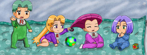 Rocket Babies by Maaiika2003