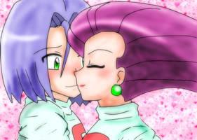 Shy kiss by Maaiika2003