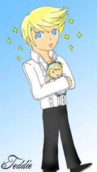 Persona 4: Teddie by RJTH