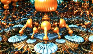 amazing orangeblue roundings by Andrea1981G