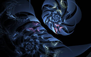 creative blue swirls by Andrea1981G