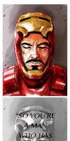 Tony Stark by krusca