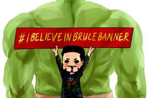 #BelieveinBruce by krusca