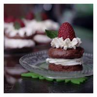 mini cakes by BezwzglednaRyba