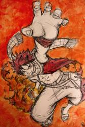 Fairytail: Natsu Dragneel by Matthew154274