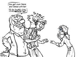 Booker needs a Attitude Adjustment by Alligator-Jesie