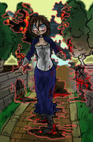 Devil in a Blue Dress by Alligator-Jesie