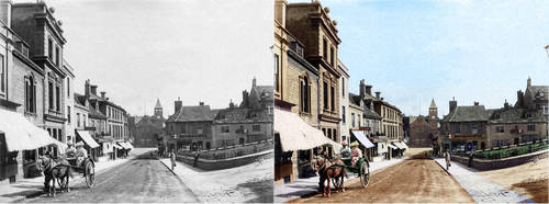 Calne 1900 Before - After by spikeyharold