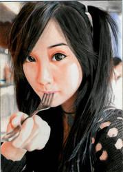 Fork Bite II by EmoMayCry
