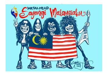 MALAYSIA'S 61th INDEPENDENCE DAY 2018 by GAYOUR