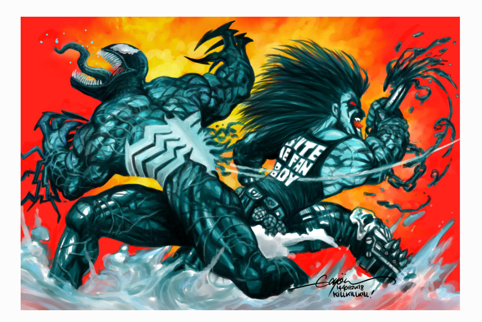 LOBO KILLS VENOM by GAYOUR