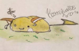 Chibi Raichu by Kittykat8873