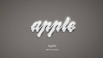 Apple With Style Wallpapers by optiv-flatworms
