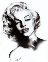 Marylin Monroe by SomethingIsWrong