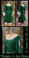 Morgan le Fay's Gown by ElegantlyEccentric