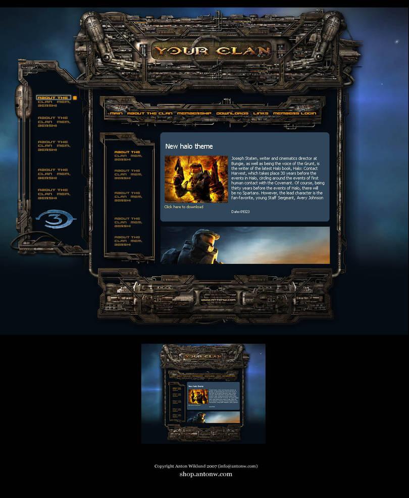 Halo template by karsten