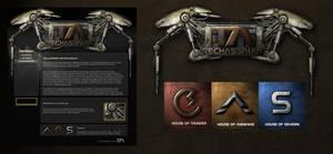 Techassault Game GUI Design by karsten