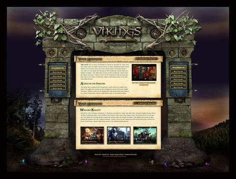 Fantasy Magic Website Template by karsten