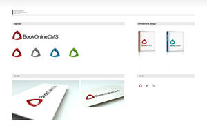 BookOnlineCMS Logo Design by karsten
