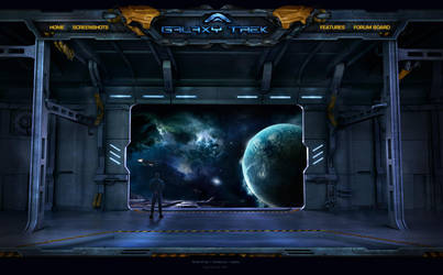 Galaxy Trek Browser Game by karsten