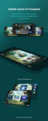 Mobile-game-ui by karsten