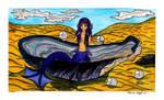 Mermaid In A Sea Shell by RainbowFay