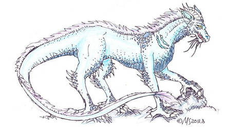 Blue Dragon by Rakuene