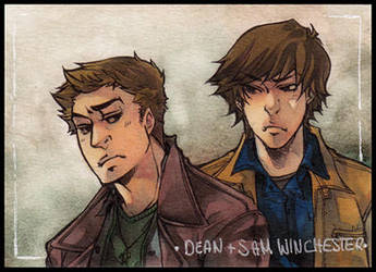supernatural aceo by XMenouX