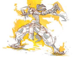 Rough main character 1 by Andres-Blanco
