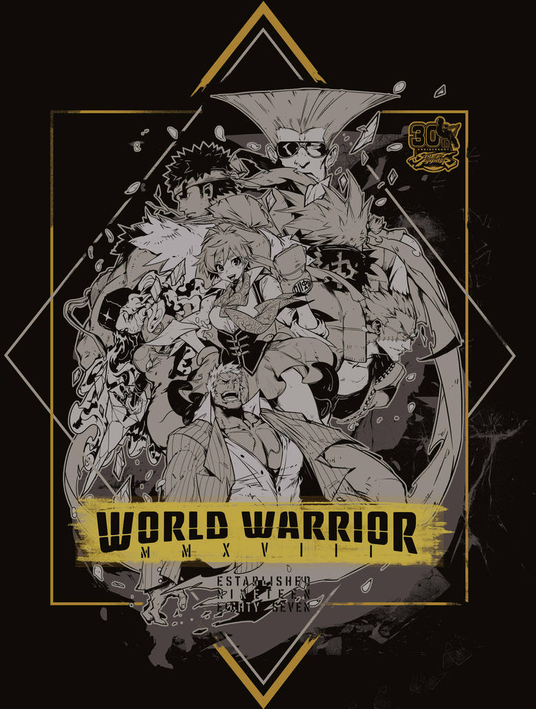 World Warrior by Andres-Blanco