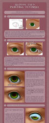 glossy eye tutorial - with a VIDEO! (edit!) by Anako-ART