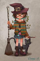 My Witchsona by Anako-ART