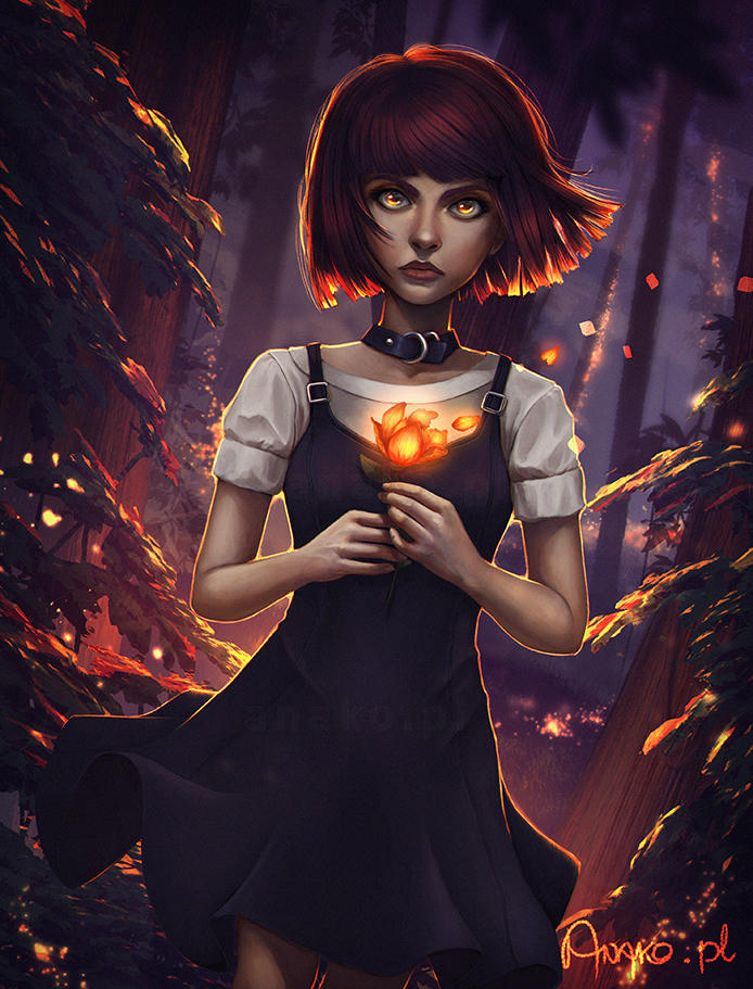 may you rest in cinders by Anako-ART