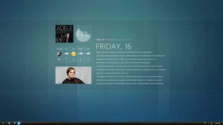 My desktop by Lusitan
