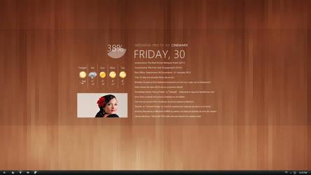 New desktop by Lusitan