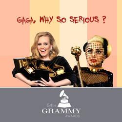 Adele vs Gaga by Lusitan