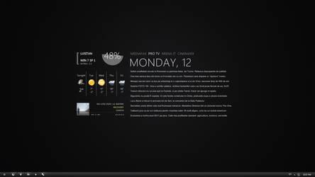 Desktop in March by Lusitan