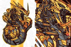 Torque Dragon by SubjektZero