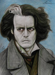 Sweeney Todd, Jhonny Depp Tribute by ANDREAMARINO93
