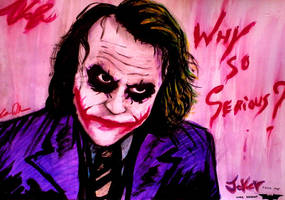 Tribute to Joker from the Dark Knight by ANDREAMARINO93