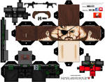 METAL GEAR SOLID V PHANTOM PAIN CUBEECRAFT!!! by ANDREAMARINO93