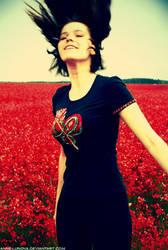 La joie en Rouge by Anne-Lunova