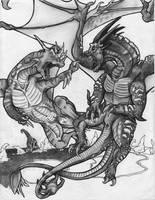 Kassa-Ni 'Dead' WIP by StalkedByDragons