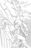 Batman  Robin by amilcar-pinna