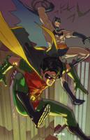 Bat Rob color by amilcar-pinna