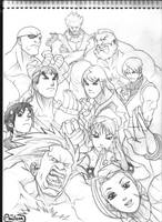 Street Fighter by amilcar-pinna