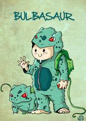 Bulbasaur Kid by greenmousa